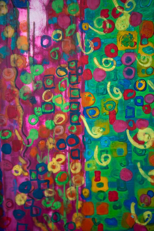 Detal mozaiki