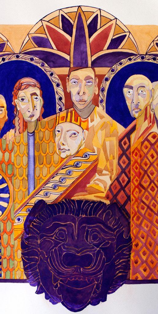 Pozdrowienia z Asyrii, Dorota Szpil, 2020